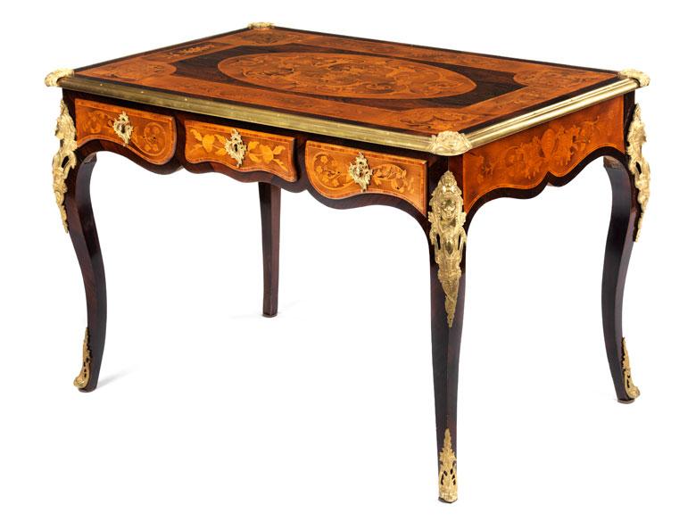 Bureau plat im Louis XV-Stil