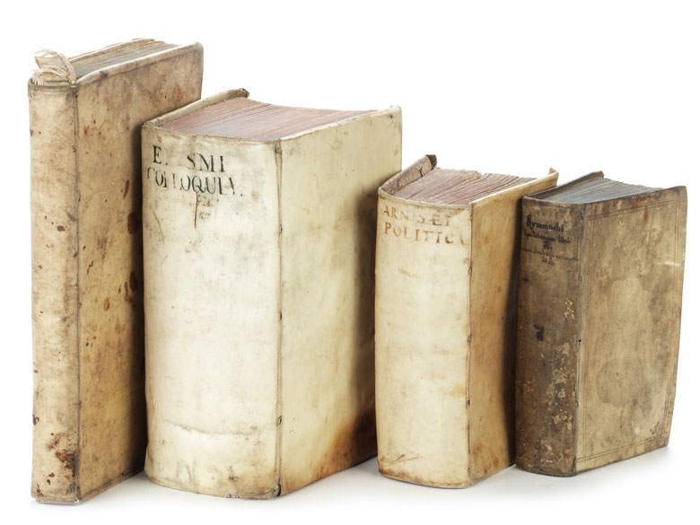 Sammlung von vier interessanten Werken