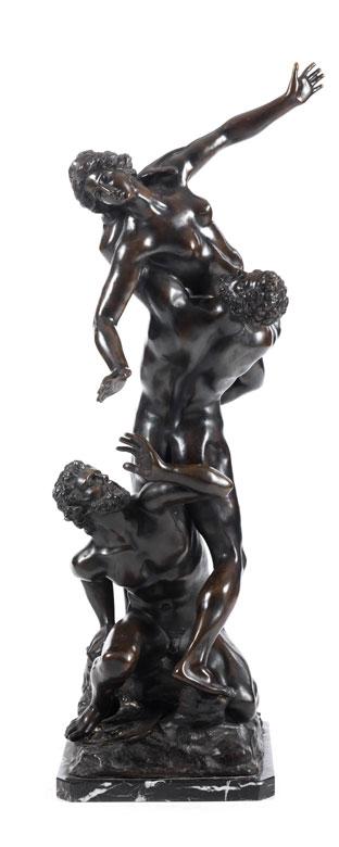 Große Bronzegruppe nach Giambologna (um 1529 - 1608)