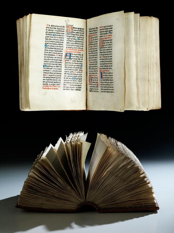Brevier auf Pergament