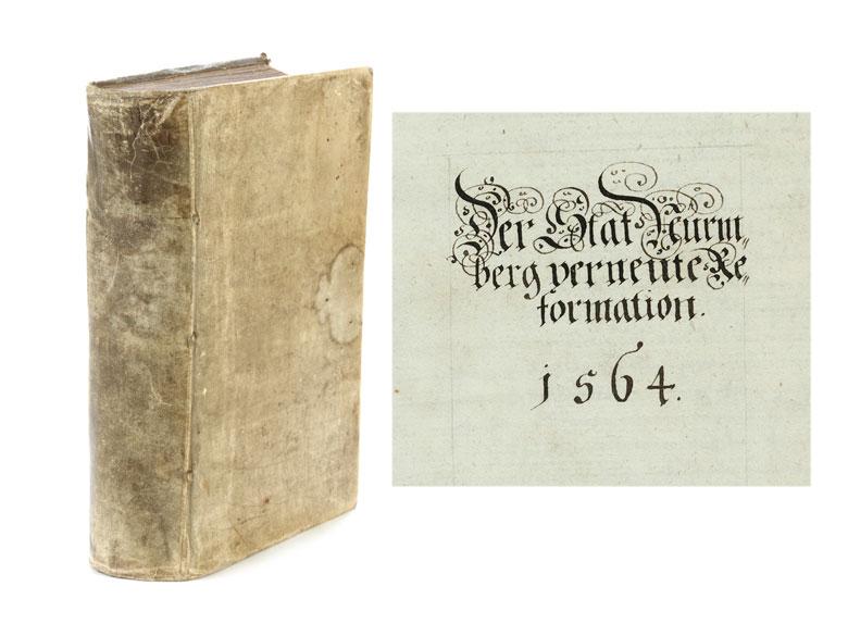 Der Stat Nurmberg verneute Reformation