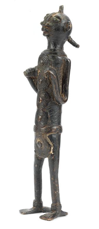 Bronzefigur der Ibo-Schmiede