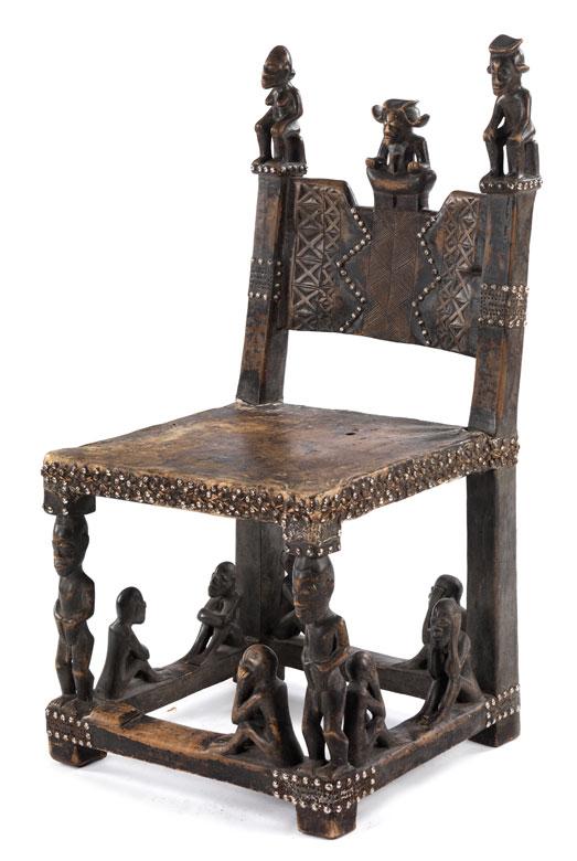 Stuhl für den Ahnenkult