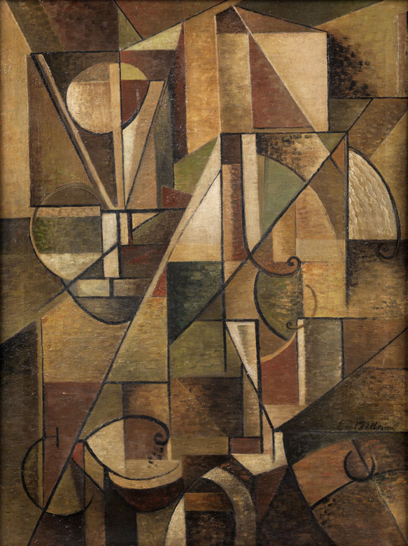 Emil Filla, 1882 Chropyně – 1953 Prag