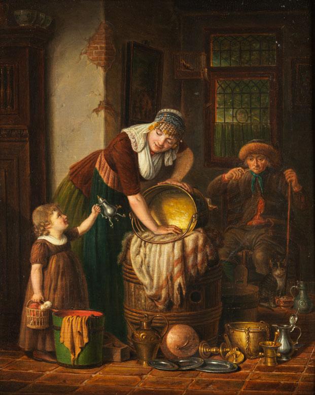 Johannes Petrus van Horstok, 1745 Overveen – 1825 Haarlem
