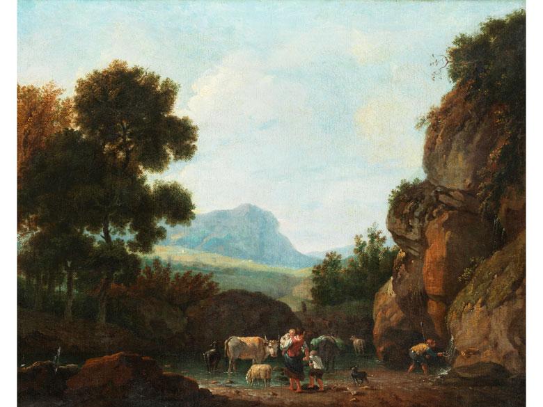 Francesco Zuccarelli, 1702 Pitigliano/ Toskana – 1788 Florenz, Umkreis