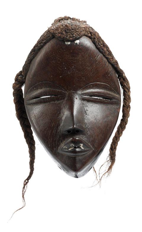 Dan Deangle-Maske eines jungen Mädchens, Tangagle Typus