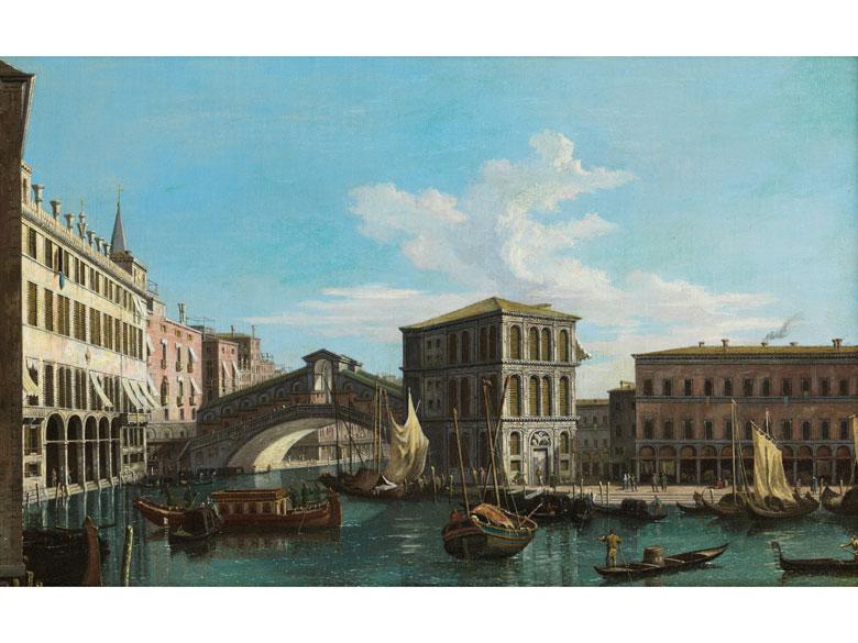 Antonio Canal, genannt Canaletto , 1697 – 1768, Nachfolge
