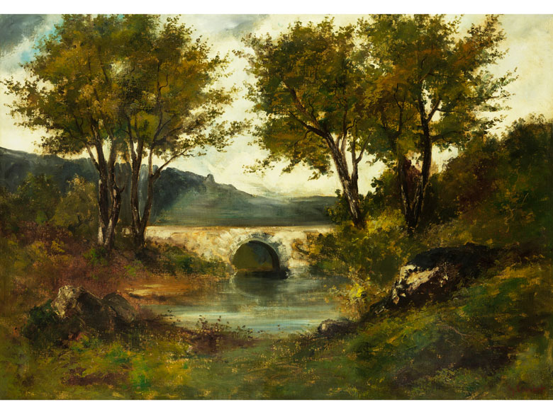 Gustave Courbet, 1819 Ornans – 1877 La-Tour-de-Peilz, und Werkstatt