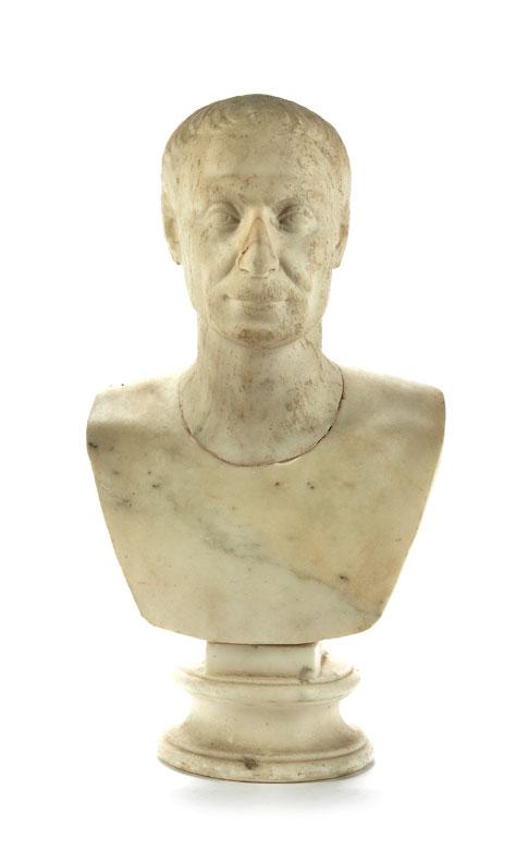 Marmorbüste eines Römers