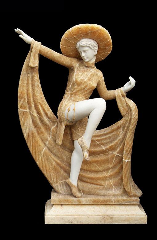 Skulptur in Art déco-Stil