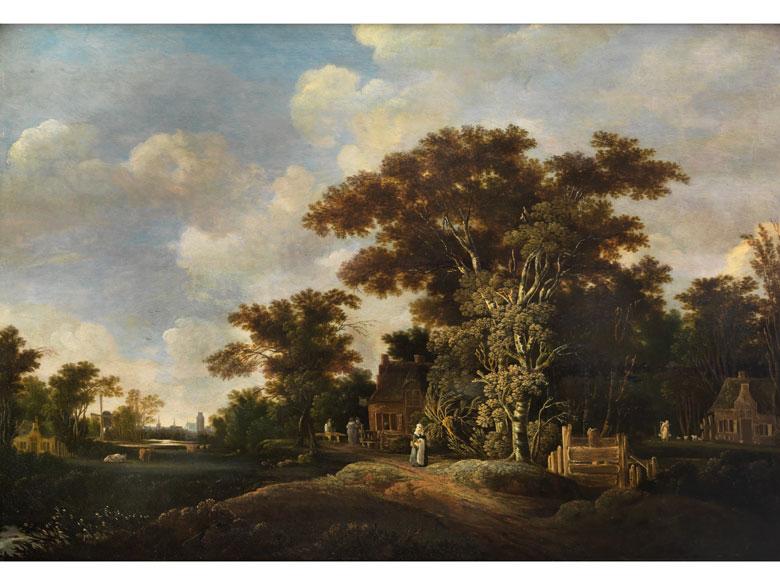 Aert van der Neer d. Ä., 1603 Gorinchem – 1677 Amsterdam