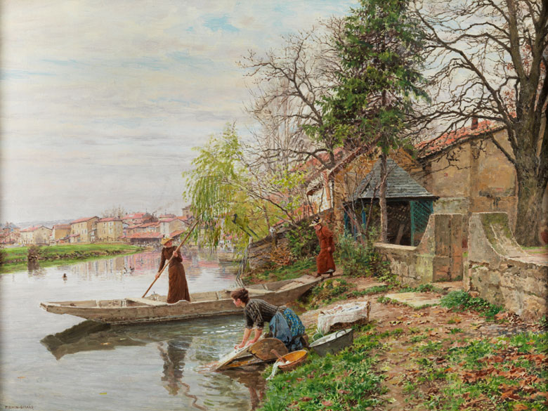 Firmin Girard, 1838 Poncin – 1921 Montluçon