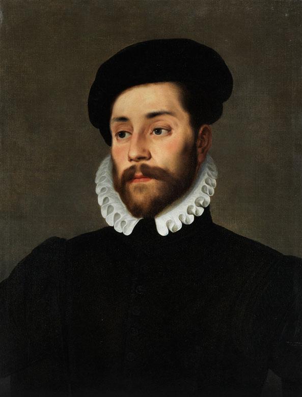Giovanni Battista Moroni, um 1525 Albino – 1578 Bergamo, zug.