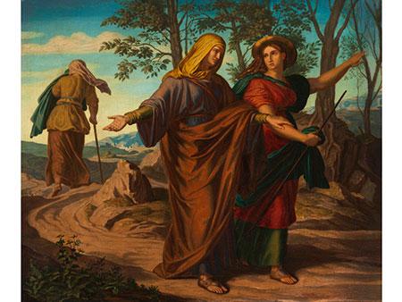 Maler aus dem Kreis der Nazarener um Josef von Führich (1800 – 1876) oder Julius Schnorr von Carolsfeld (1794 – 1872)