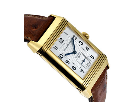 Jaeger LeCoultre Reverso Duo-Face in Gold