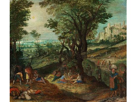 Marten van Valckenborch, 1534 – 1612