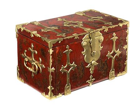 Seltene Chinoiserie-Schatulle der Epoche Louis XIV