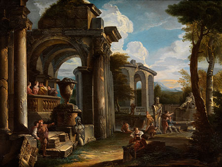 Giovanni Paolo Pannini, 1691 Piacenza – 1765 Rom, zug.