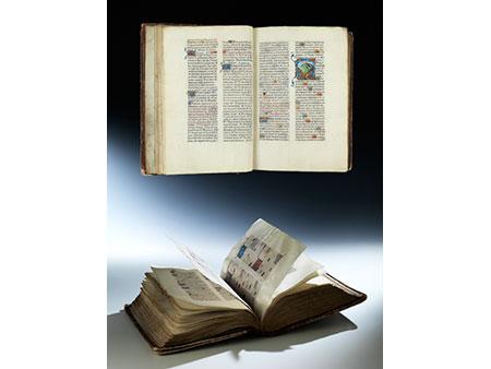 """Bedeutendes und prachtvolles """"Breviarium Franciscanum"""" des 15. Jahrhunderts"""
