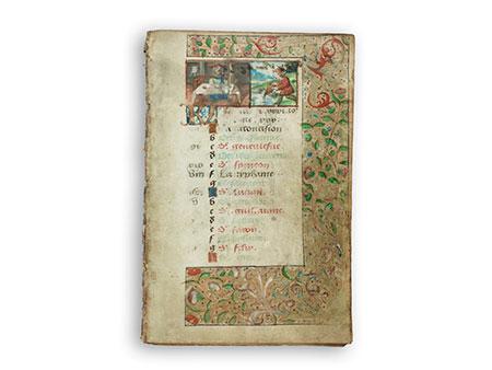 Kalender aus Stundenbuch