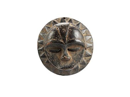 Maske einer Untergruppe des Ibibio-Stils