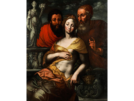 Vincent Sellaer, Südniederländischer Maler zwischen 1538 und 1544 in Mechelen tätig, zug.