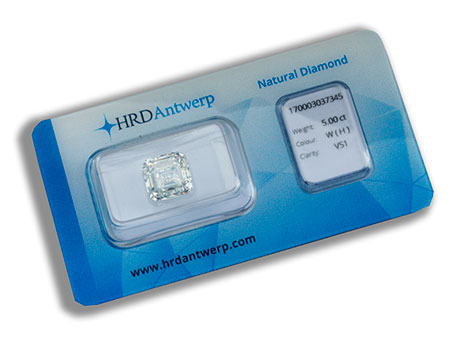 Loser Diamant 5.00 ct H/VS1