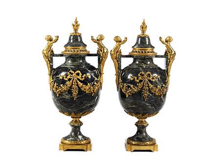 Paar Napoleon III-Ziervasen