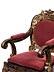 Details: Musealer chinesischer Armlehnstuhl