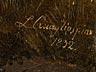 Details: Lorenzo Quaglio d.J., 1793 München – 1869 ebenda