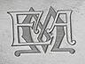 Details: Große zaristische Silberplatte