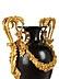 Details: Paar hochfeine große Louis XVI-Vasen