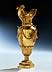 Details: Vergoldete Bronze-Zierkanne