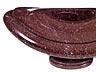 Details: Paar seltene große Deckelschalen in afrikanischem Porphyr