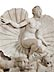 Details: Großer Marmorbrunnen mit Venusfigur