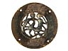 Details: Frühes Limoges-Medaillon des 13. Jahrhunderts
