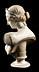 Details: Marmorbüste einer römischen Göttin