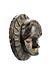 Details: Maske einer Untergruppe des Ibibio-Stils