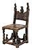 Details: Stuhl für den Ahnenkult