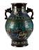Details: Japanische Cloisonné-Vase