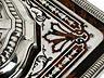 Details: Französisches Tintengefäß in Silber mit Schildpatteinlagen