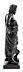 Details: Bronzefigur des Asklepios, dem Gott der Heilkunst und der Ärzte