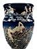 Details: Große Vase von Louis-Robert Carrier-Belleuse (1848 – 1913)
