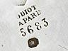 Details: Großes Odiot-Silberservice