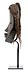 Details: Dan Deangle-Maske eines jungen Mädchens, Tangagle Typus