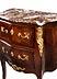 Details: Kleine zweischübige Kommode im Louis XV-Stil