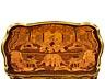 Details: Eleganter Louis XV-Beistelltisch