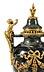 Details: Paar Napoleon III-Ziervasen