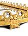 Details: Große, repräsentative Empire-Tafelaufsatzplatte